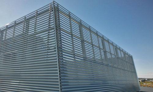 Fassadenlmellen als Verkleidung Hype GmbH